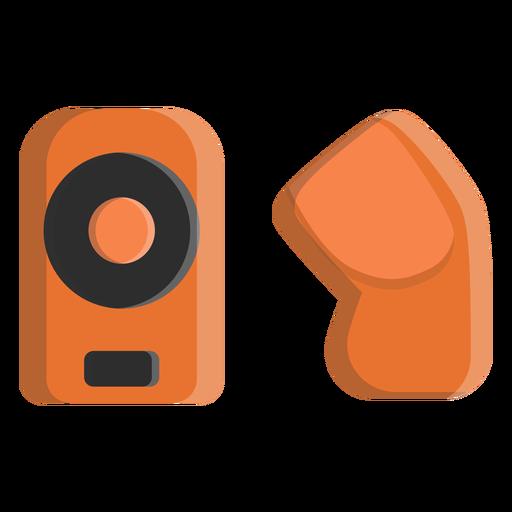 Ícone de almofadas de cotovelo de hóquei Transparent PNG
