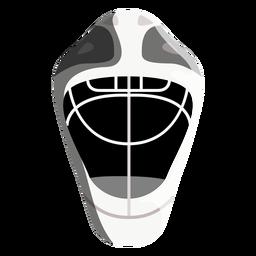 Ícone de capacete de hóquei