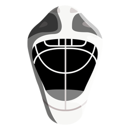 Icono de casco de hockey