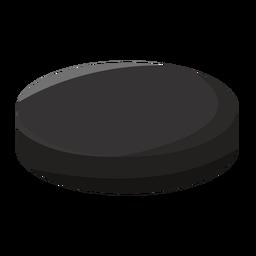 Hockey puck icon