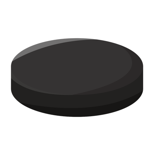 Hockey puck icon Transparent PNG