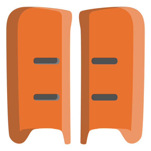 Hockey shin pads icon Transparent PNG