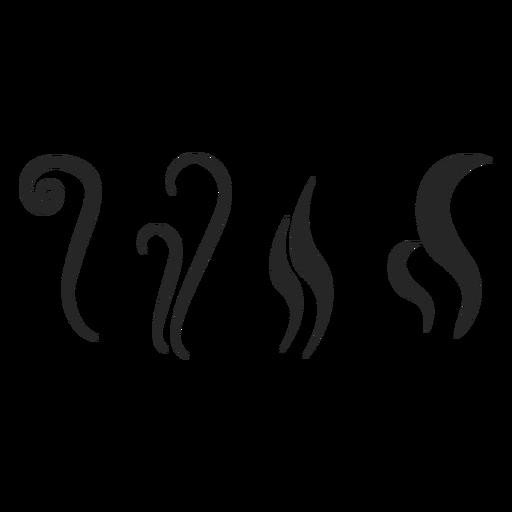 Icono de elementos de bebida caliente