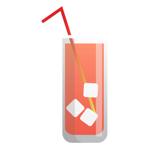 Ice tea icon Transparent PNG
