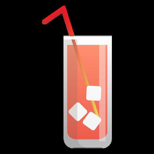 Icono de té helado Transparent PNG