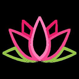 Flor de loto indio clipart