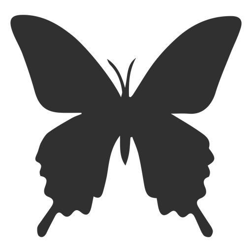 Insect butterfly silhouette Transparent PNG