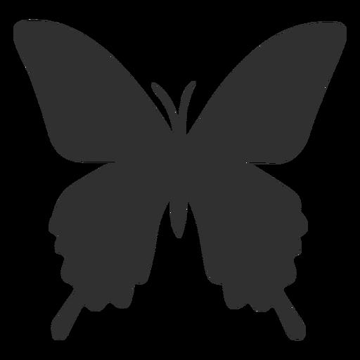 Silhueta de borboleta insetos Transparent PNG