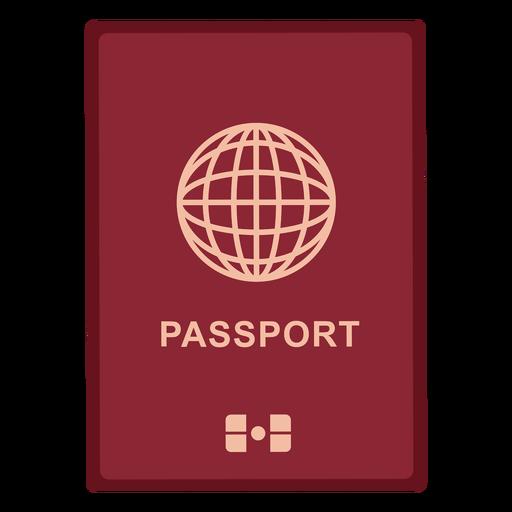 Icono de pasaporte internacional Transparent PNG