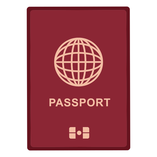 Icono de pasaporte internacional