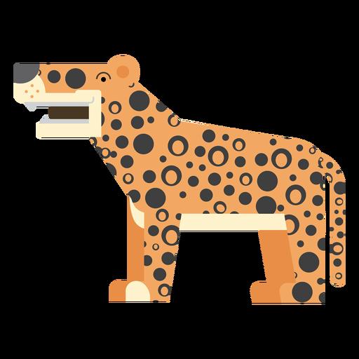 Ilustração de jaguar Transparent PNG