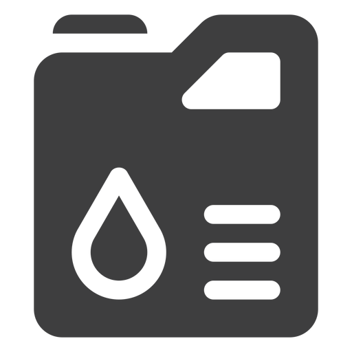 Jerry can fuel tank icon Transparent PNG