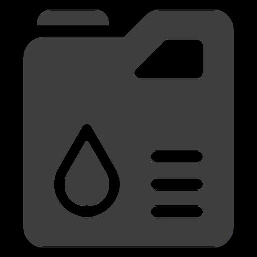Jerry can icono de tanque de combustible Transparent PNG