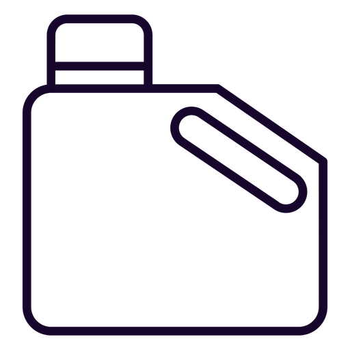 Jerry fuel can stroke icon Transparent PNG