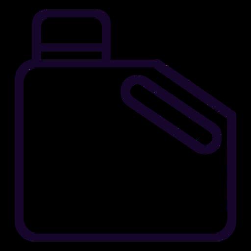 Jerry fuel puede icono de trazo Transparent PNG