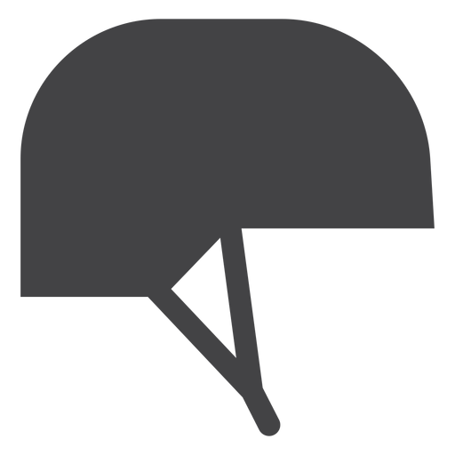 Jockey helmet flat icon Transparent PNG