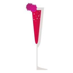 Icono de cóctel Kir Royale