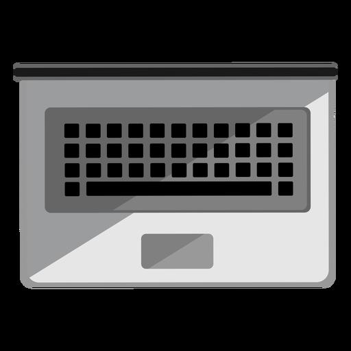Icono de la vista superior del portátil Transparent PNG