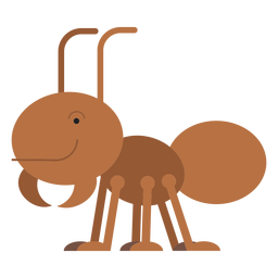Leaf cutter ant illustration