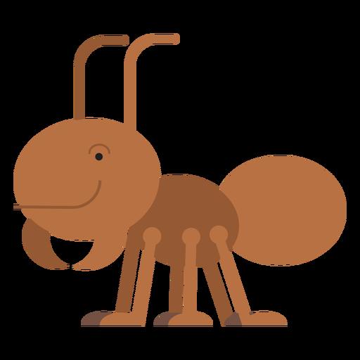 Ilustración de hormiga cortadora de hojas Transparent PNG