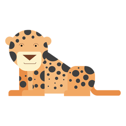 Ilustración de leopardo