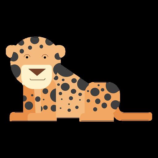 Leopard illustration Transparent PNG