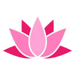 Lotus farbiges Symbol