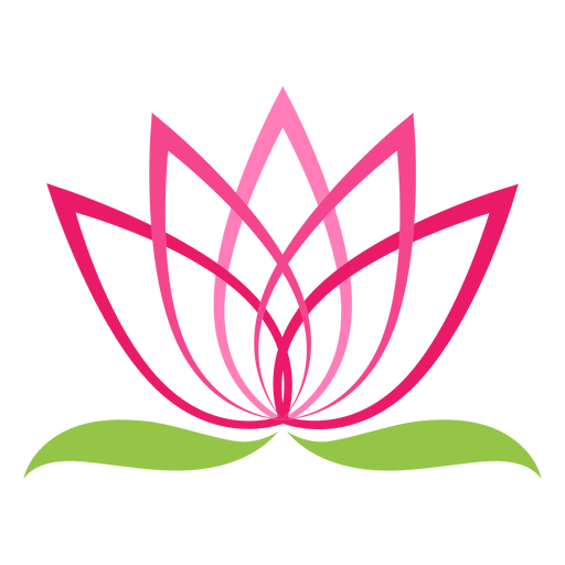 Lotus Flower Logo Symbol Transparent Png Svg Vector