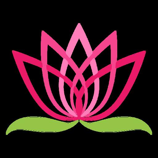Símbolo de logotipo de flor de loto Transparent PNG