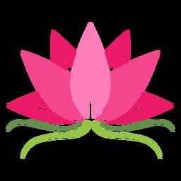Icono de planta de loto