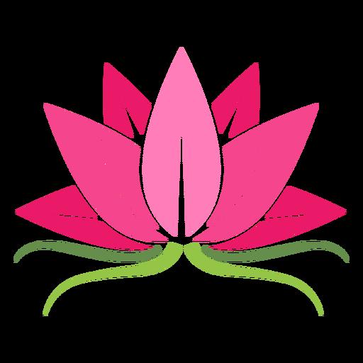 Ícone de planta de lótus Transparent PNG