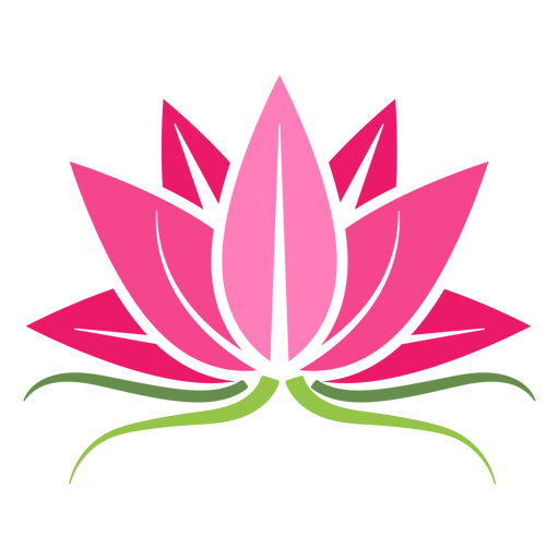 Lotus plant icon Transparent PNG