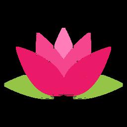 Icono de simbolo de loto