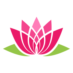 Icono de símbolo de loto
