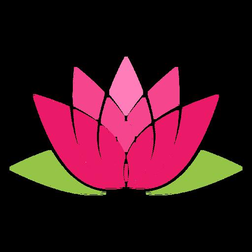 Icono de simbolo de loto Transparent PNG