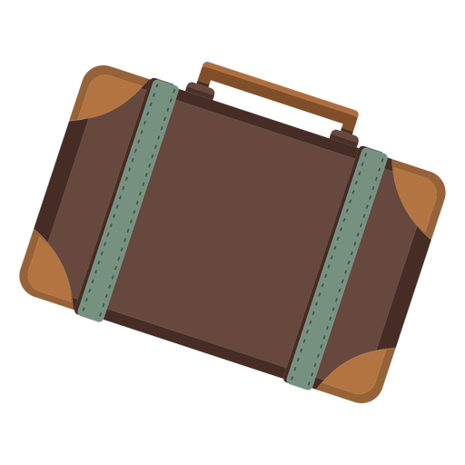 Ícone de mala de bagagem Transparent PNG