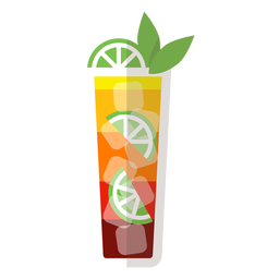 Mai tai cocktail ícone