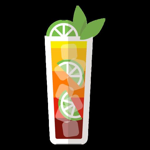 Mai tai cocktail icon Transparent PNG
