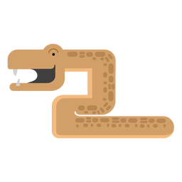Mamba-Schlange-Illustration