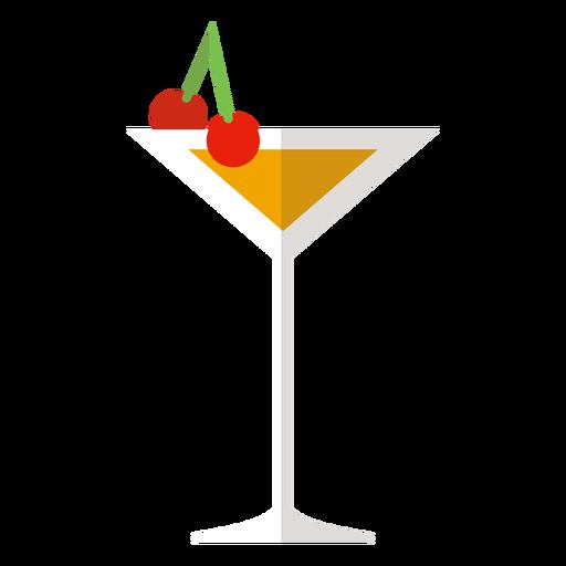 Icono de cóctel de Manhattan Transparent PNG