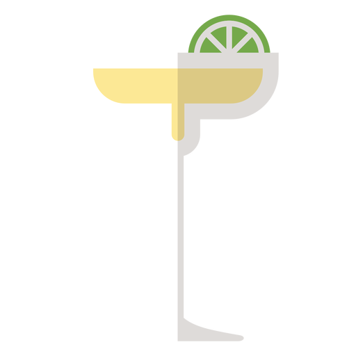 Margarita cocktail icon Transparent PNG
