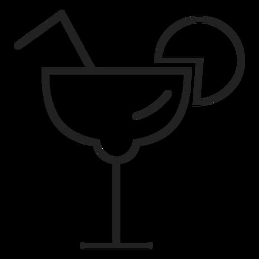 Icono de cristal margarita Transparent PNG