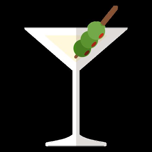 Icono de coctel Martini