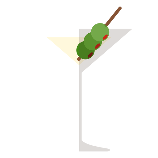 Martini cocktail icon Transparent PNG