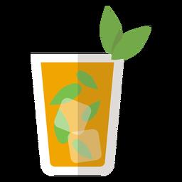 Icono de coctel de menta julepe
