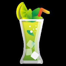 Ícone de limonada de hortelã