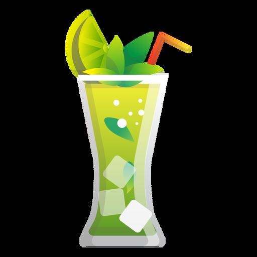 Icono de limonada de menta Transparent PNG