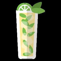 Icono de cóctel mojito