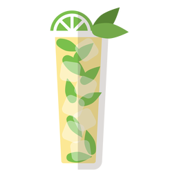 Mojito cocktail icon
