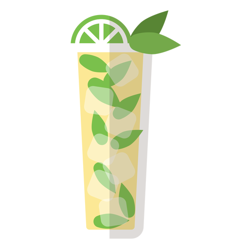 Mojito cocktail icon Transparent PNG